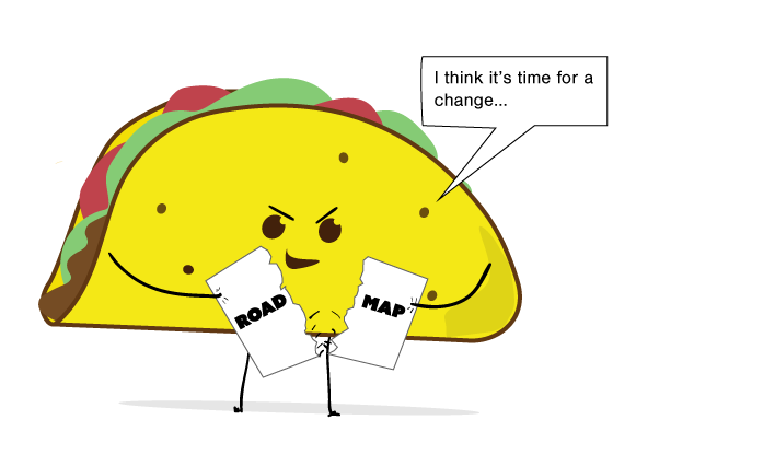 tAco tears up roadmap