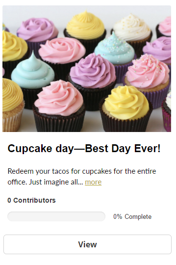 example of cupcake reward tile