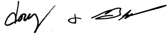 doug and blake signature