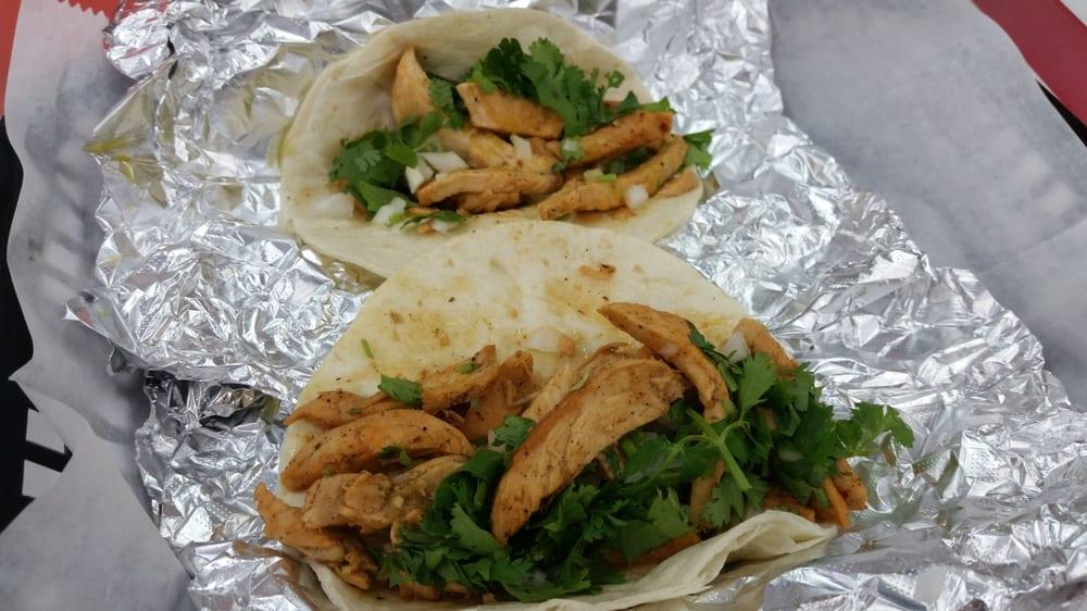 tacos from Taquito Potosino