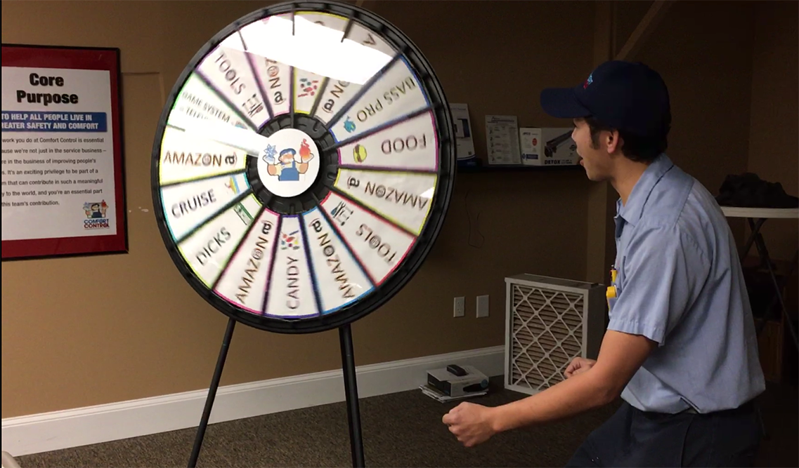 taco prize wheel you spin