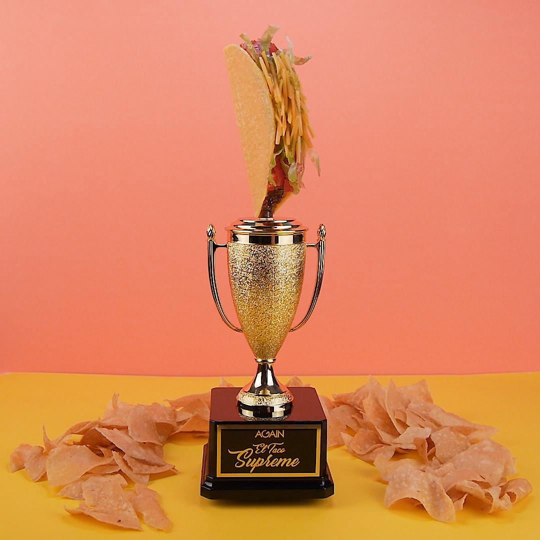 El Taco Supreme trophy