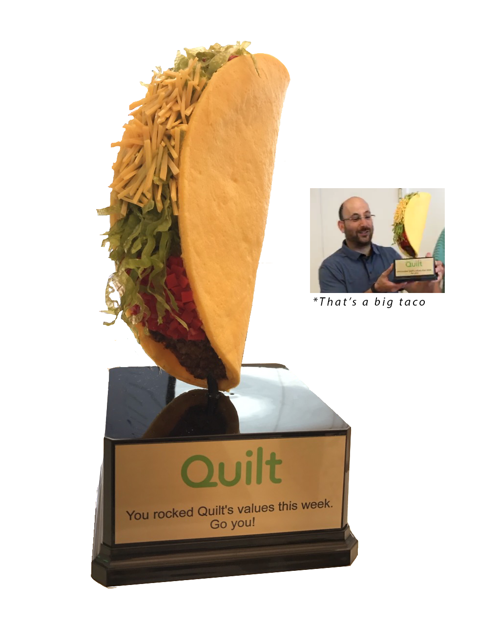 Massive Taco Trophy Quilt