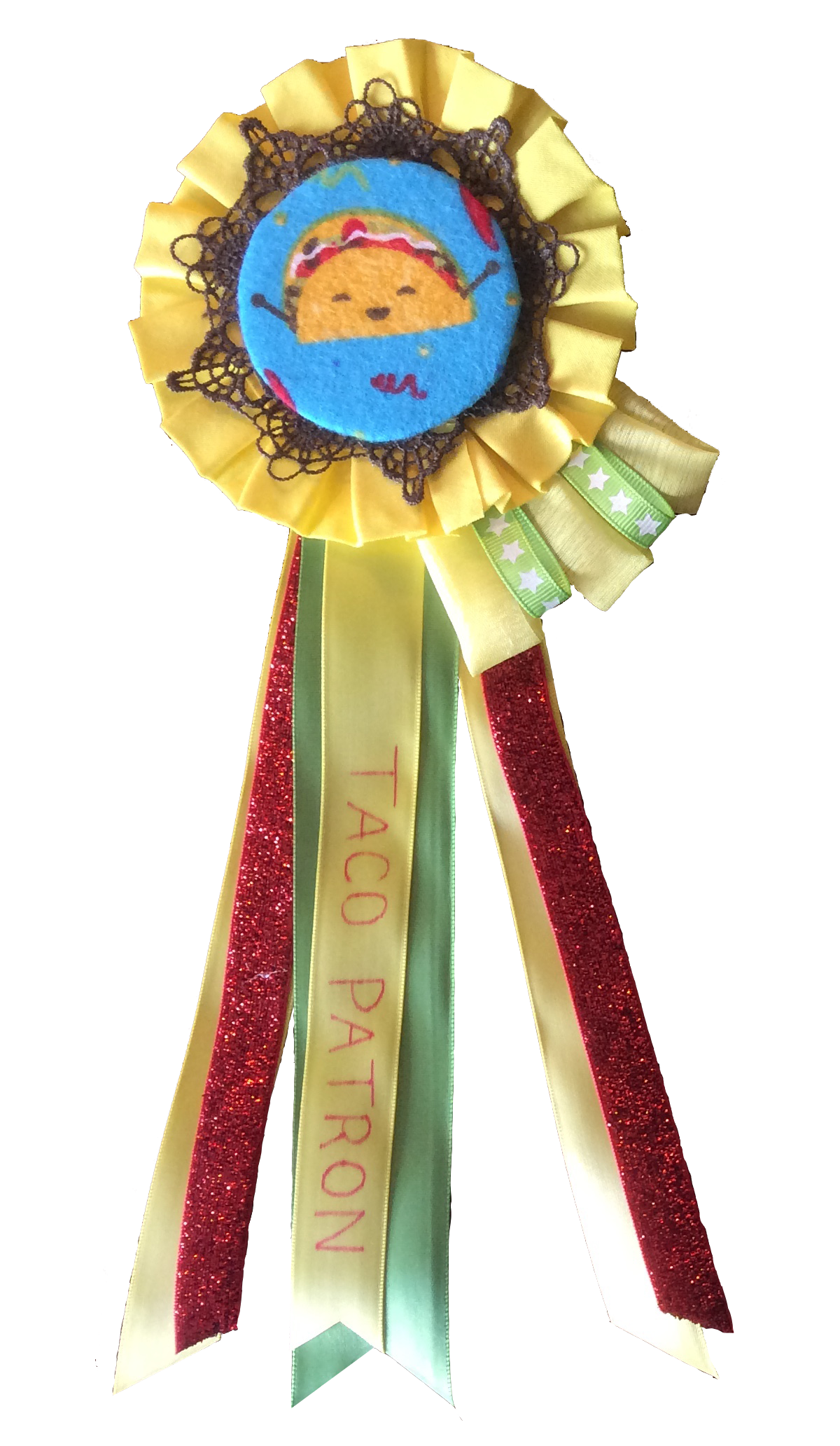 Taco Rosettes Trophy Modern Tribe