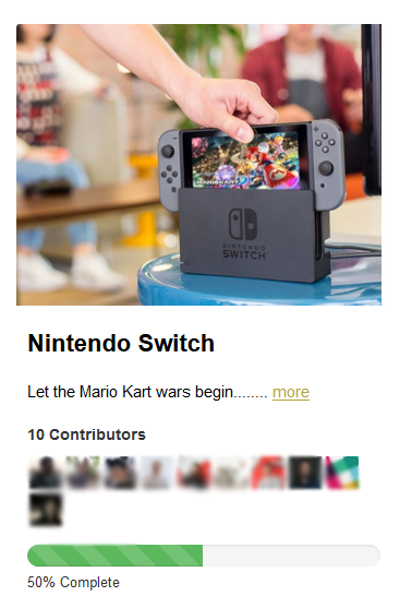 Nintendo Switch for office